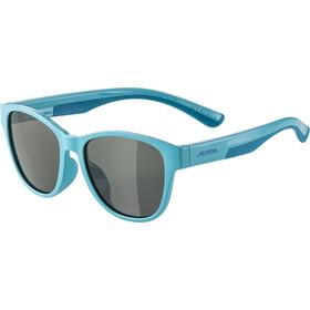 Alpina Flexxy Cool Kids II Occhiali Bambino, turquoise/black mirror